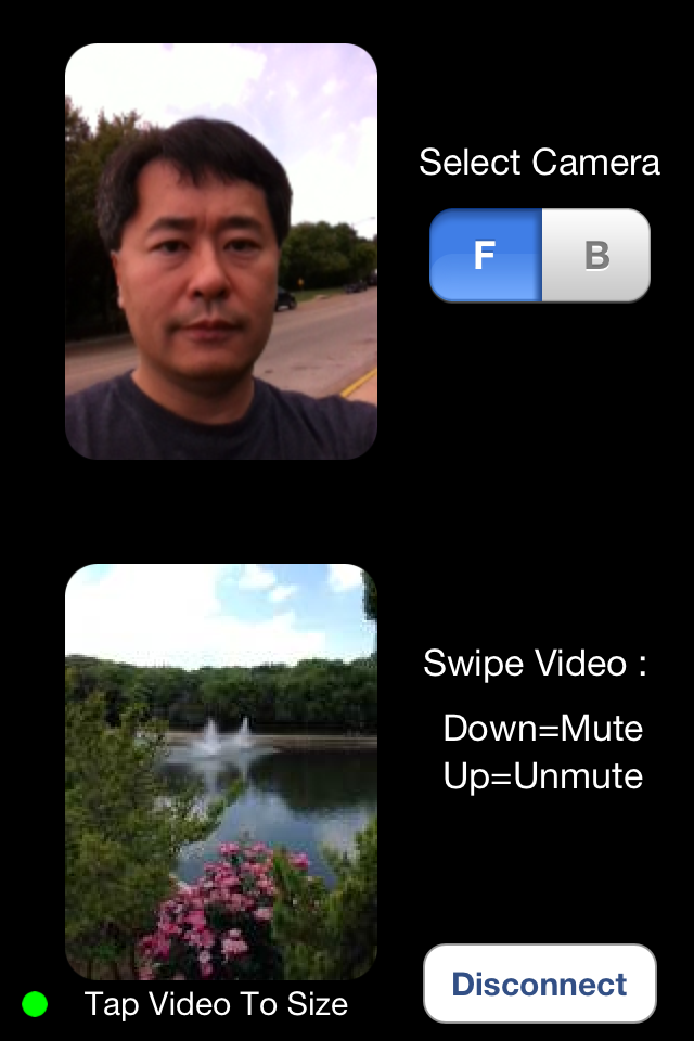 Image of Bluetooth Video Chat for iPhone