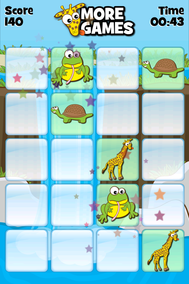 Screenshot Giraffe's Matching Zoo