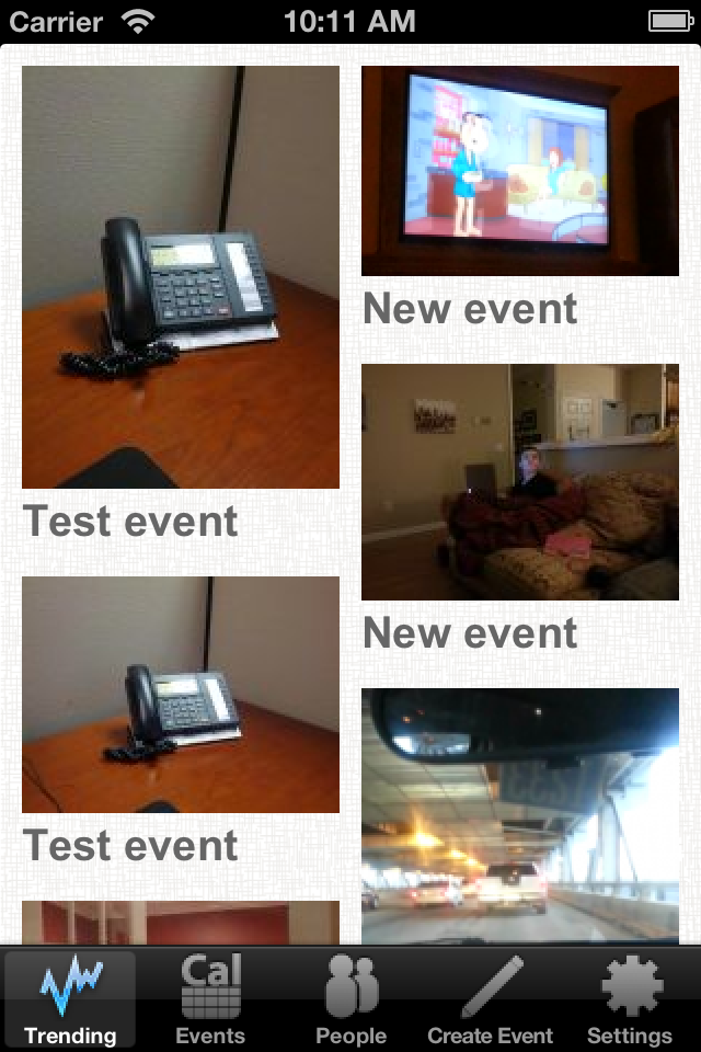 Image of Eventily for iPhone
